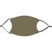 Military Olive Face Mask (Optional add Initials or Jersey Number)