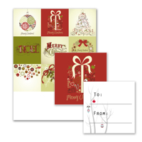 9 Gift Tags - A