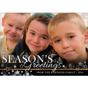 H - Season's Greetings Stars