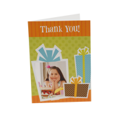 5x7 Folded Greeting Card (vertical)