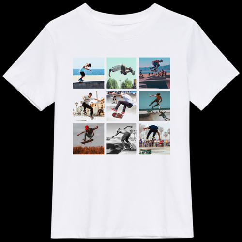 9 Photos Collage t-Shirt