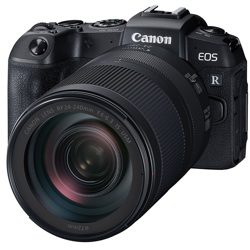 Canon-EOS RP Mirrorless Camera with RF 24-240mm F4-6.3 IS USM Lens - Black-Digital Cameras