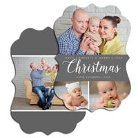Merry Little Christmas<br>5x7 Ornate<br>Envelope