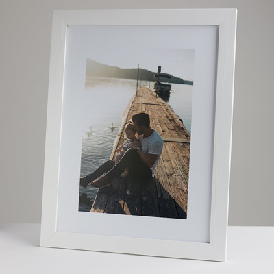 300x400mm Print in a 30mm White Frame with a 200x300mm image  (50mm white space on all sides)
