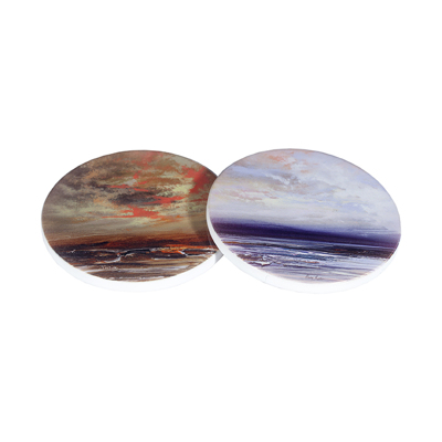 Ceramic Coaster 90mm Diameter Up to 8 images