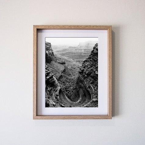 20x2450x60cm Vertical Deep Set Print And Frame Fitzgerald Photo