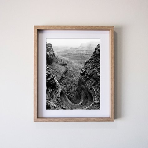 16x2040x50cm Vertical Deep Set Print And Frame Fitzgerald Photo