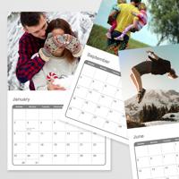 A4 Calendar 26 pages - 12 Months