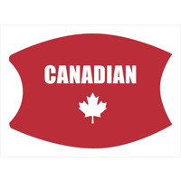 Canadian Customized Face Mask (Lg/Adult)