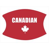 Canadian Customized Face Mask (Lg/Adult)