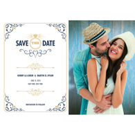 Modern - 1 Sided Save the Date