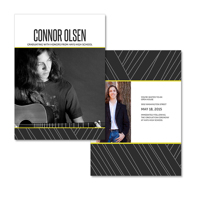 5x7  2 Sided Graduation Card (17-042)