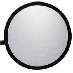 illumi-107cm Reflector - Silver and White Double Stitch-Light Tents, Softboxes, Reflectors and Umbrellas