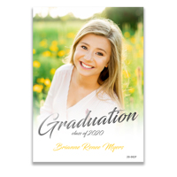 Graduation Announcement (20-002F)