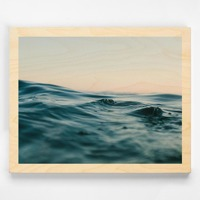 11x14 Wood Print with Narrow Border