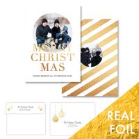 Christmas Day<br>5x7 Foil<br>Envelope