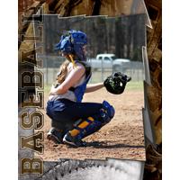 16 x 20 Baseball Poster