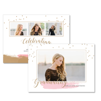 5x7  2 Sided Graduation Card (17-005)