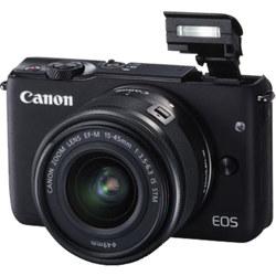 Canon-Appareil Photo à Objectif Interchangeable M10 avec Objectif EF-M 15-45mm IS STM (En Liquidation)-Appareil Photo Numérique