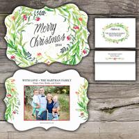 Christmas Magic<br>5x7 Ornate<br>Envelope