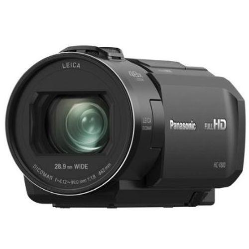 Panasonic-HC-V800K HD Camcorder 24X Leica Dicomar Lens-Video Cameras