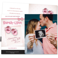 Baby Shower Card W - 2 Sided