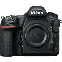 Nikon-D850 DSLR Camera - Body Only - Black-Digital Cameras