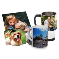 Coffee/Travel Mugs, Coasters, Placemats, Jigsaw Puzzles and Ceramic Tiles