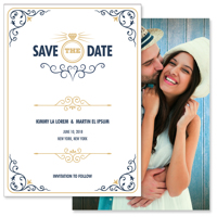 Modern - 2 Sided Save the Date