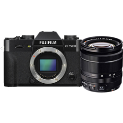 Fujifilm-X-T20 Compact System Camera with XF 18-55mm Lens-Digital Cameras