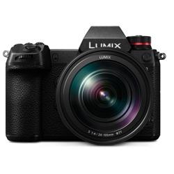 Panasonic-LUMIX S1 - DC-S1MK Digital Mirrorless Camera with 24-105mm F4 Lens-Digital Cameras