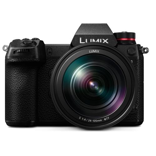 Panasonic-Appareil Photo Numérique Sans Miroir LUMIX S1 - DC-S1MK avec Objectif 24-105mm F4-Appareil Photo Numérique
