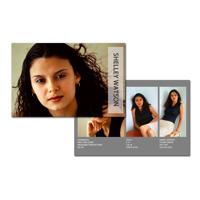 8.5 x 5.5 Comp Card (2-sided) Modern