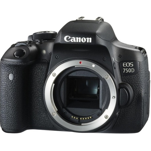 Canon-EOS 750D - Body Only - Black-Digital Cameras