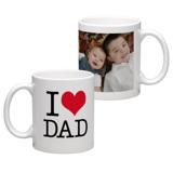 White Coffee Mug 11oz (wrap) Dad-D