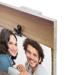 16x20 Rustic Photo Display with Clips