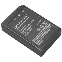 ProMaster-BLS-5 - 50 XtraPower Lithium Ion Replacement Battery for Olympus #5605-Battery Packs & Adapters