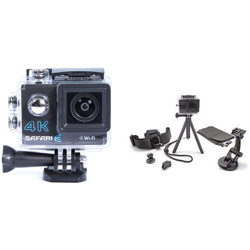 Optex-Safari 3 4K with 6-in 1 Action Camera Accessory Kit-Video Cameras