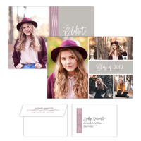 Grad Party<br>5x7<br>Double Sided