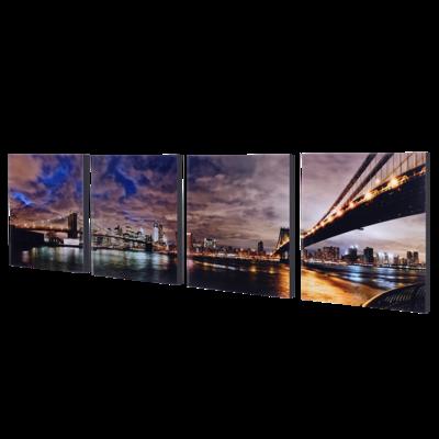 """4-8x10 Premium 3/4"""" Split Image Blocks"""