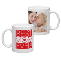 White Coffee Mug 11oz (wrap) Mom - C