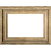 4x6 Horizontal Light Brown Wood Frame
