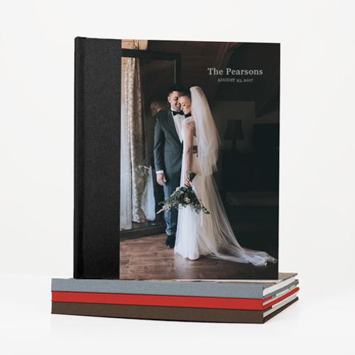 Book Classic Linen Photo Cover 8.5x11