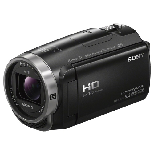 Sony-CX675 Handycam with Exmor R CMOS sensor HDR-CX675-Video Cameras