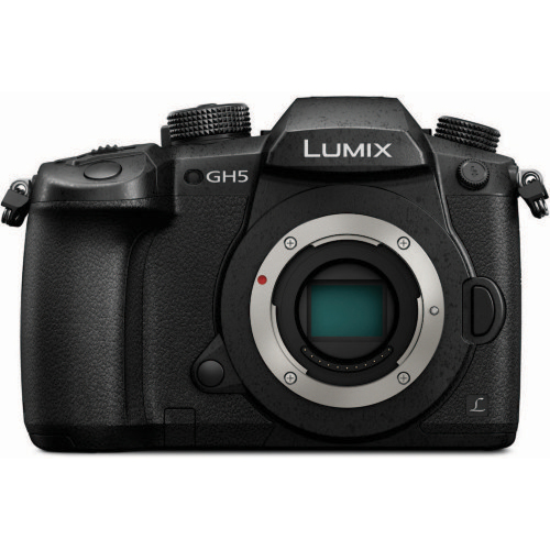Panasonic-Lumix GH5 Compact System Camera - Body Only - Black-Digital Cameras