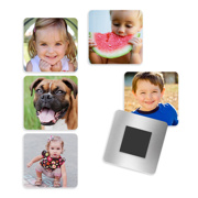 2x2 Metal Magnet Set