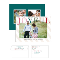 Joyful Life<br>5x7 Double Sided<br>Envelope