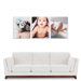 """3 Piece 400x500mm (16x20"""") Collection with 12mm Image Wrap"""