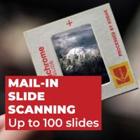 Slide Scanning - Up to 100 Slides
