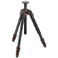 Manfrotto-190 Go! Aluminum 4 Section Tripod with Twist Locks - Black #MT190GOA4TB-Tripods & Monopods